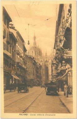 Corso Vittorio Emanuele - 1924