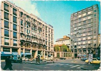 Piazza del Liberty - Anni '70