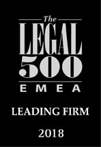 Studio legale - The Legal 500 - EMEA Leading Firm